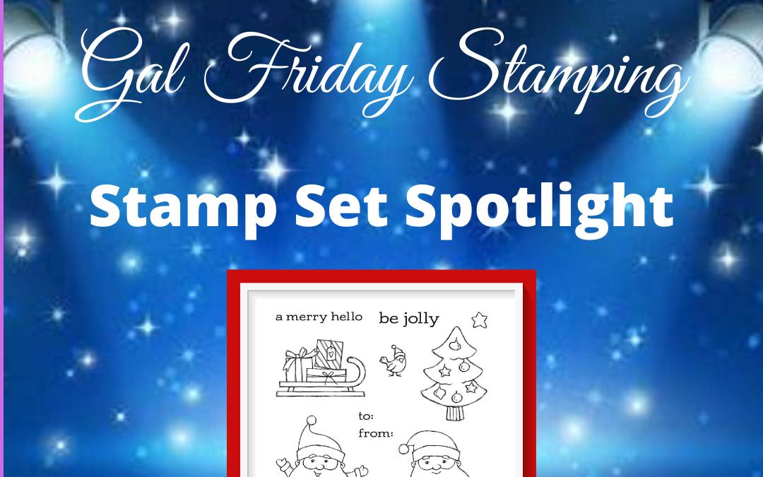 Weekly Showcase Spotlight Stamp Set